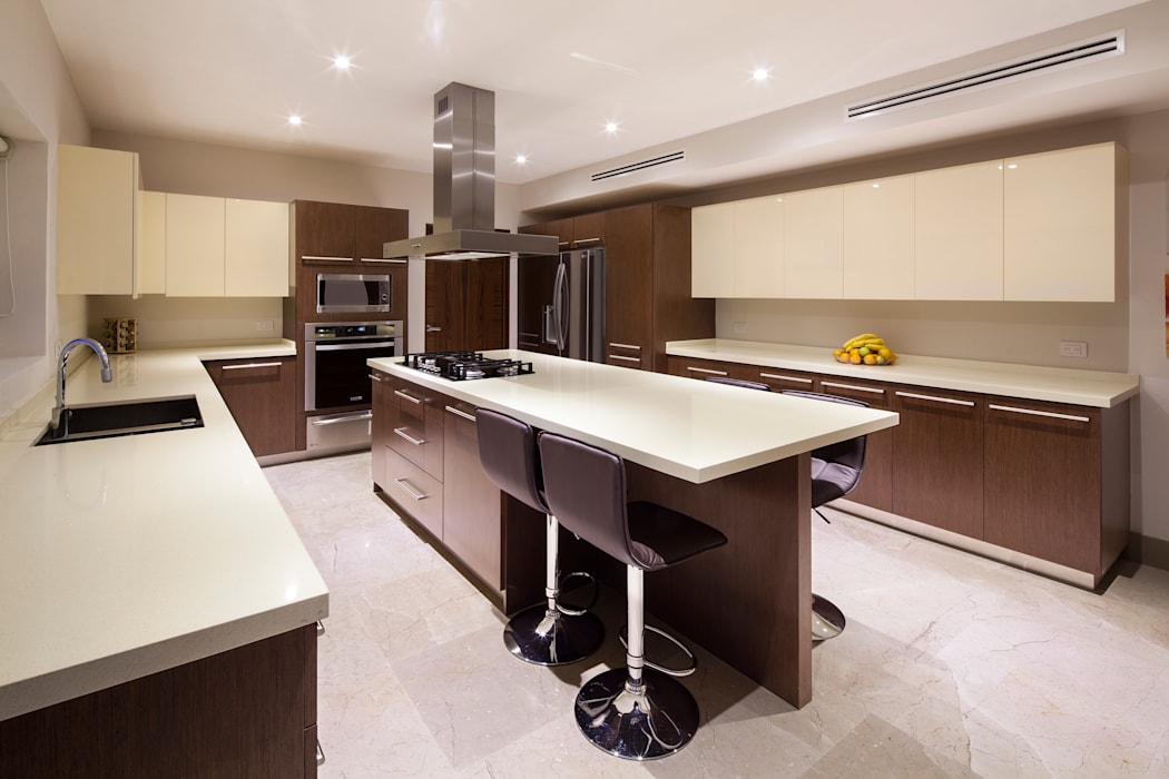 kitchen: Cocinas de estilo moderno por NZA