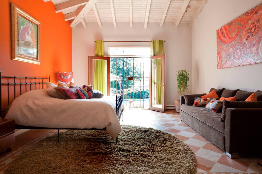 Contadero Decor, Mexico City 2011. Recámaras eclécticas de Erika Winters® Design Ecléctico