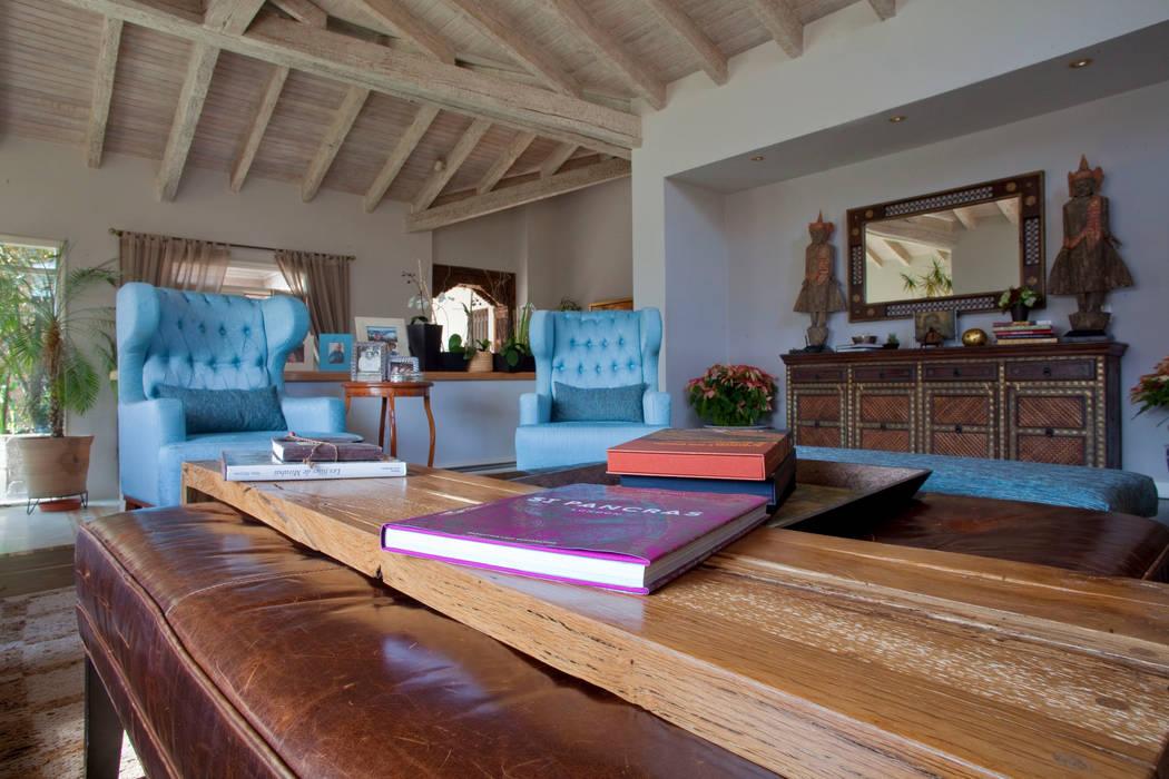 Ruang Keluarga Gaya Eklektik Oleh Erika Winters® Design Eklektik