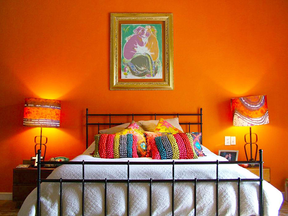 Erika Winters® Design Eclectic style bedroom