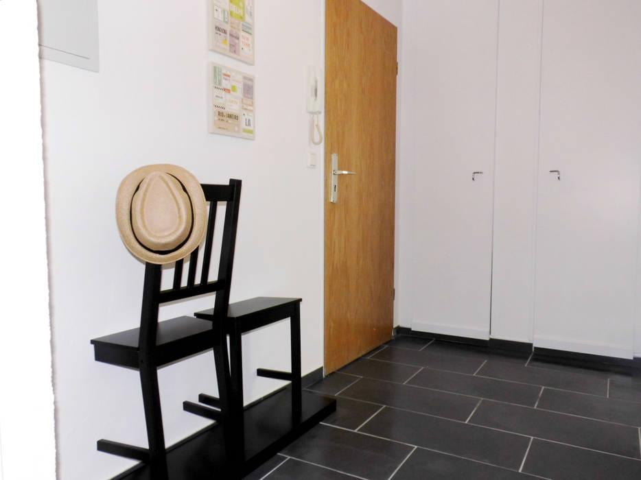 Pang-industriya na corridors estilo, Pasilyo & Hagdan by raum² - wir machen wohnen Industrial
