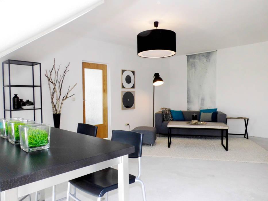 raum² - wir machen wohnen Industrial style living room