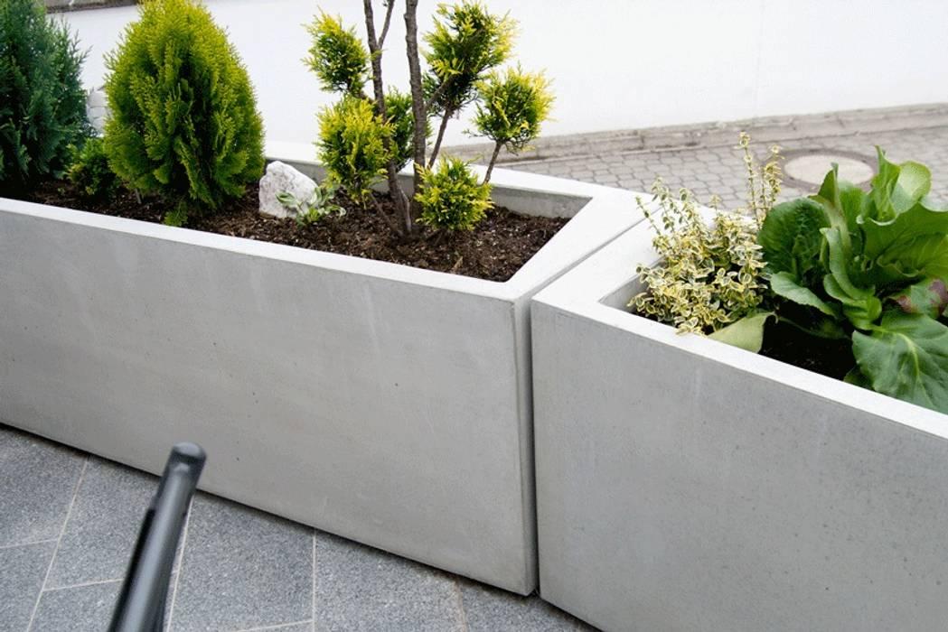 Beton Blumenkübel Und Pflanztröge By Monomentals Garten Von