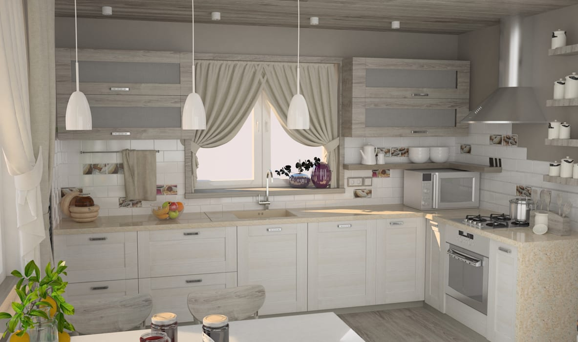 Kitchen by DS Fresco, Country