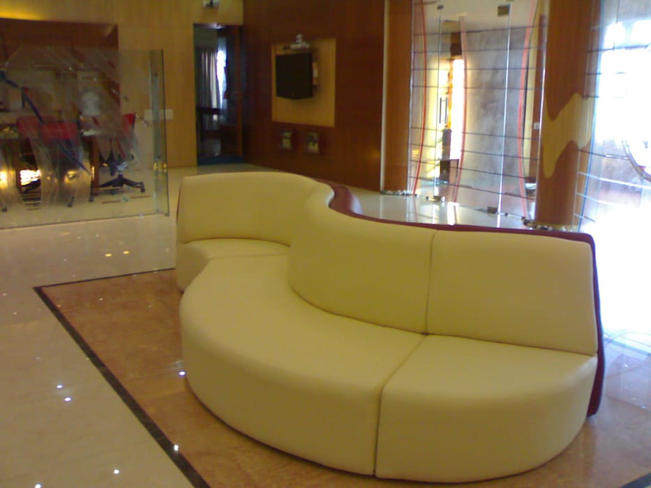 Glass House - Dharmasthala, :  Media room by Architecture Interior Co. Pvt. Ltd,