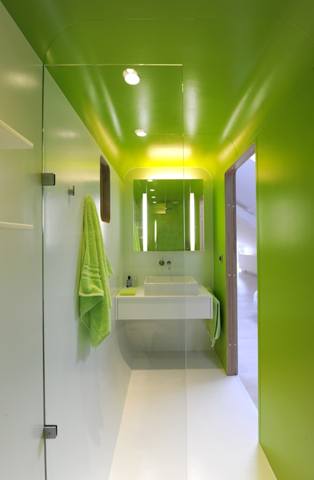 The Kempart loft 現代房屋設計點子、靈感 & 圖片 根據 Dethier Architecture 現代風