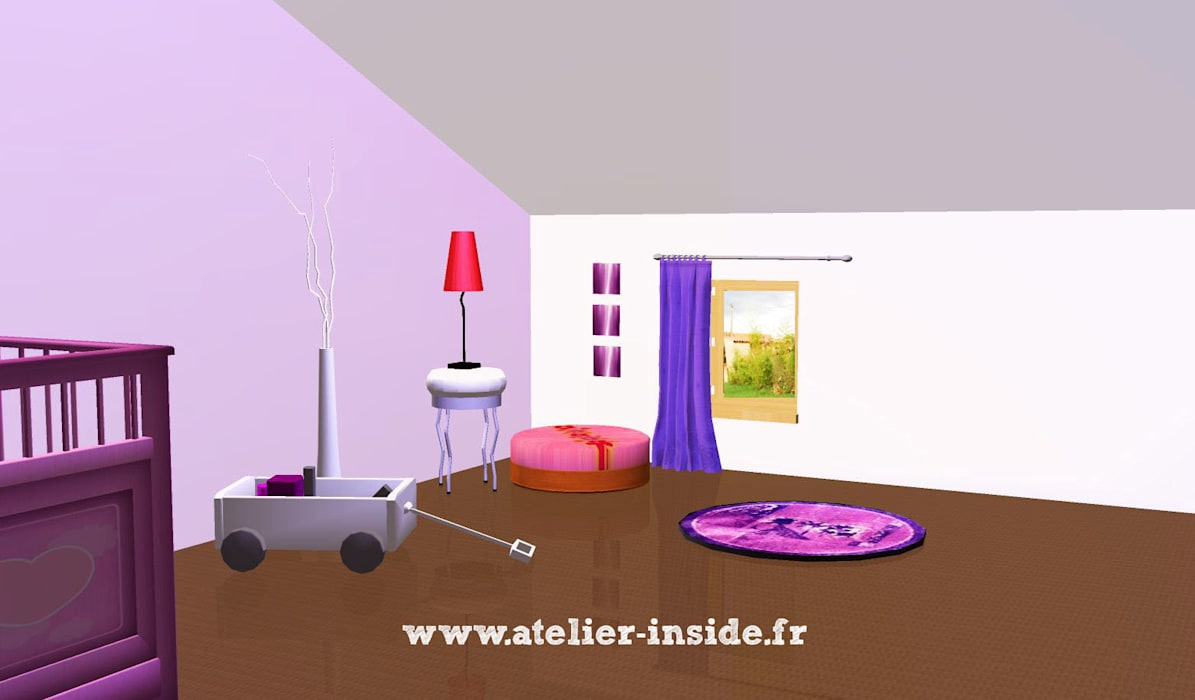 Atelier Inside Modern nursery/kids room
