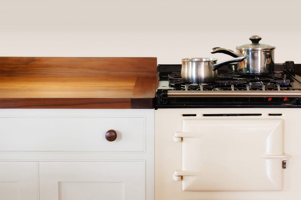 It's all in the detail with traditional wood kitchens:  Kitchen by NAKED Kitchens