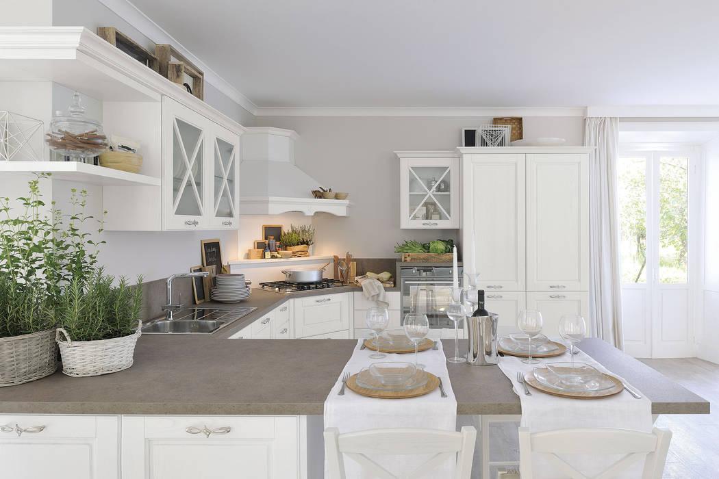 Agnese 1 - cucinelube: cucina in stile di studio ferriani | homify