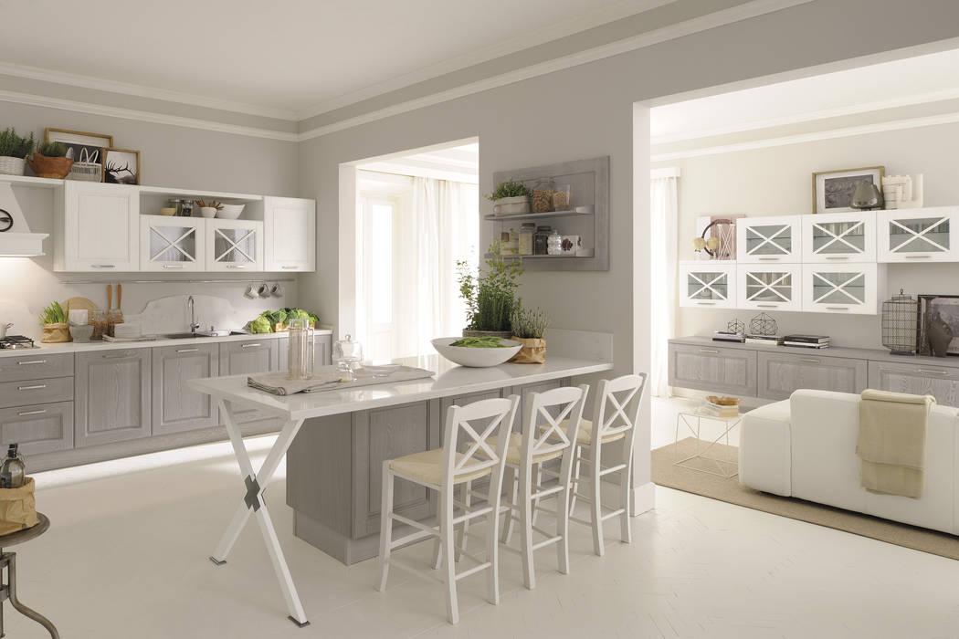 Kitchen oleh Studio Ferriani