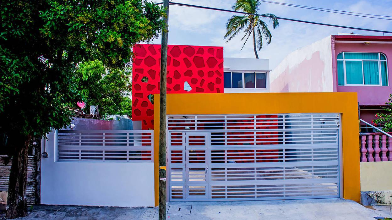Projekty,  Domy zaprojektowane przez Gerardo ars arquitectura