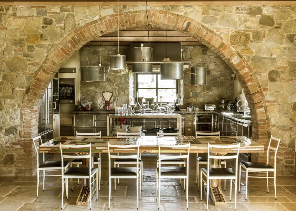 Cocinas de estilo mediterráneo de dmesure Mediterráneo