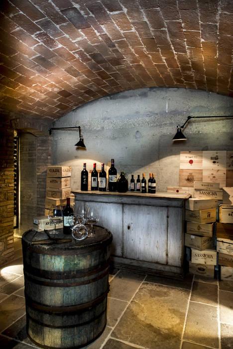 Toscane: Cave à vin de style  par dmesure
