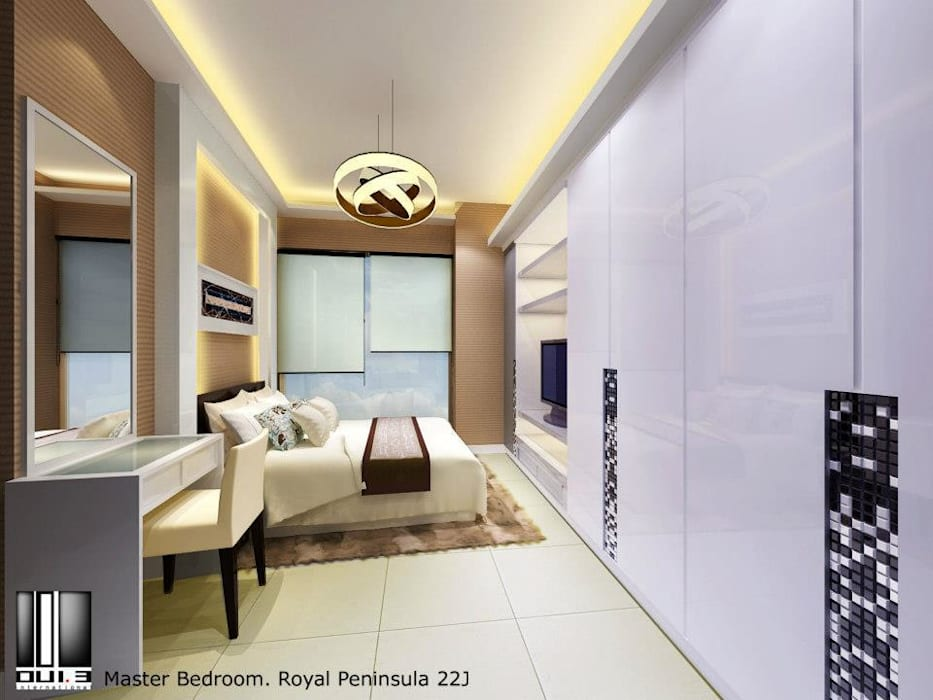 Master Bedroom: modern Living room by Oui3 International Limited