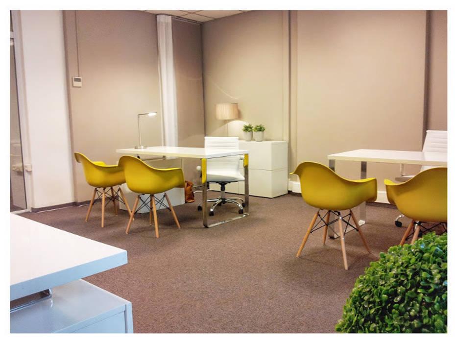 Accueil et réception Espaces de bureaux industriels par Insides Industriel
