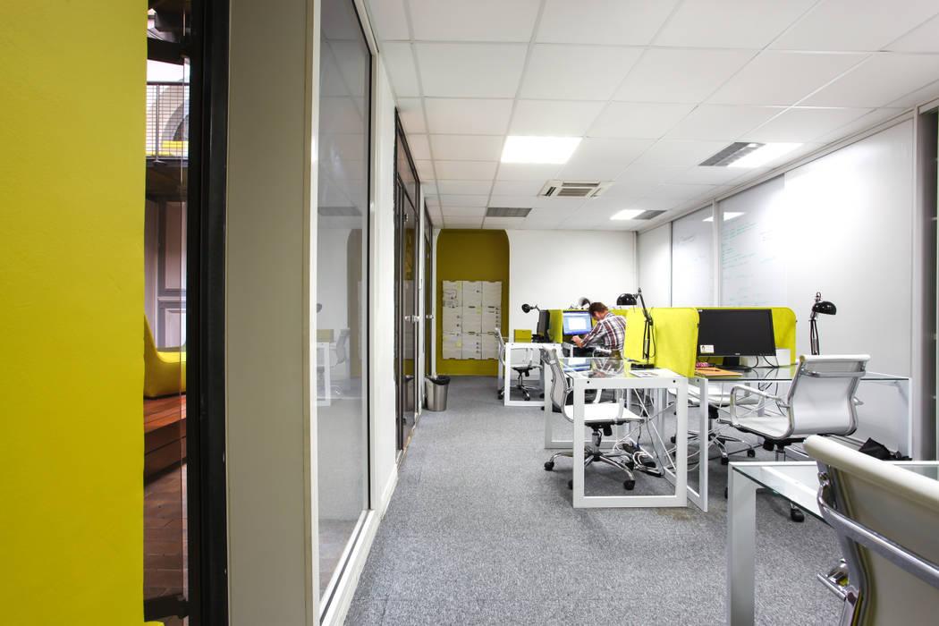 Bureau agence immobilière Espaces de bureaux industriels par Insides Industriel