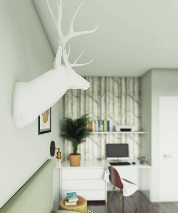 ЖК Отрада: Спальни в . Автор – Massimos / cтудия дизайна интерьера,