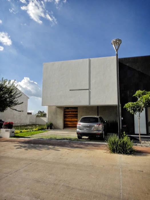 Casa Zaragoza: Casas de estilo  por Abraham Cota Paredes Arquitecto