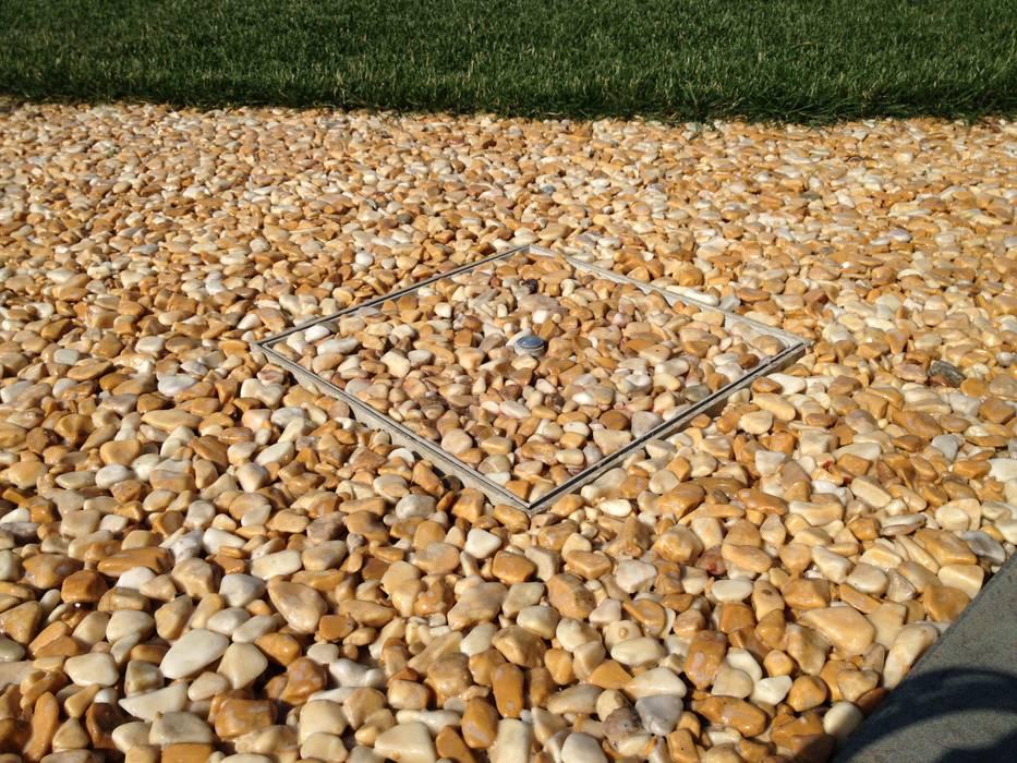 Pavimentazione Drenante Da Giardino : Pavimentazione drenante in ghiaia resinata giardino in stile di