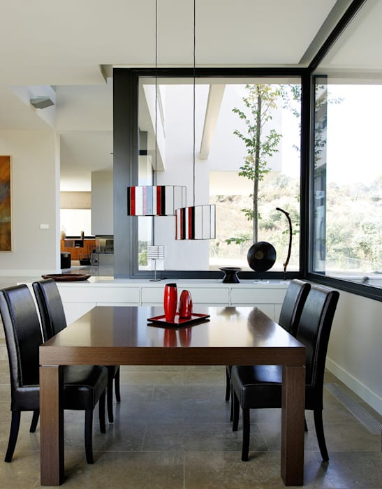 Arquitectura moderna en Madrid: Salones de estilo  de Otto Medem Arquitecto vanguardista en Madrid, Moderno