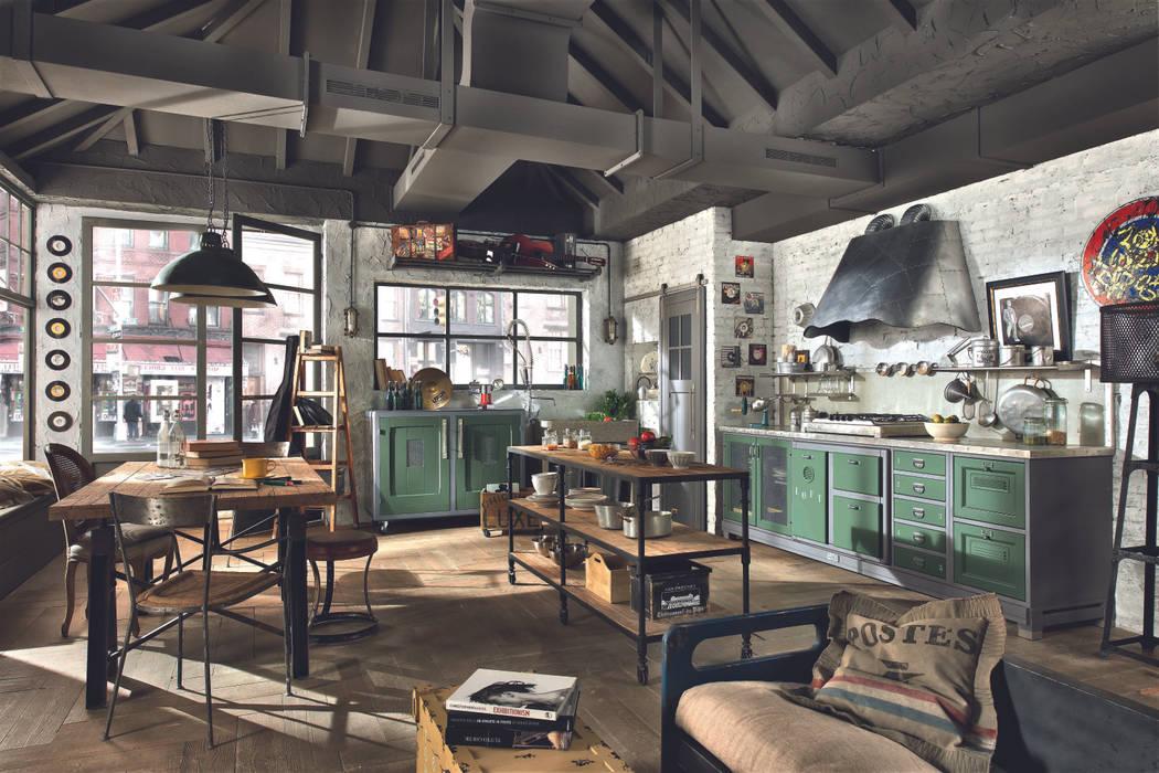 Marchi cucine presenta i modelli loft e nolita: cucina in stile di ...