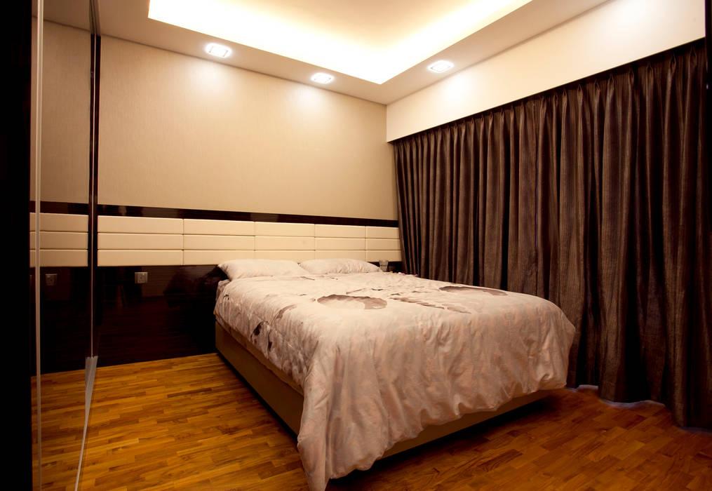 BTO Bukit Panjang:  Bedroom by VOILÀ Pte Ltd,Modern