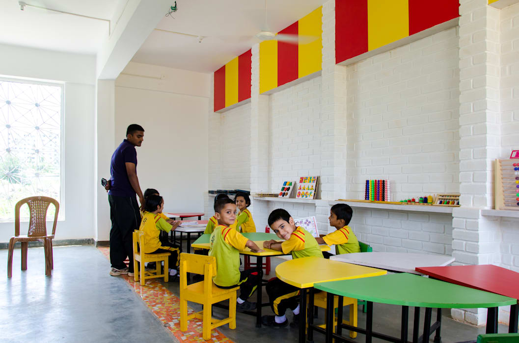 The new classroom Nursery/kid's room by M+P Architects Collaborative