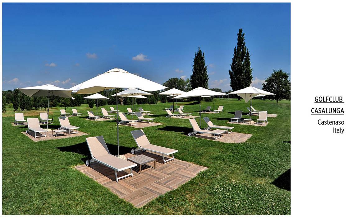 Plaza Yapı Malzemeleri – Havuz & Havuz Bahçe:  tarz Bahçe, Tropikal