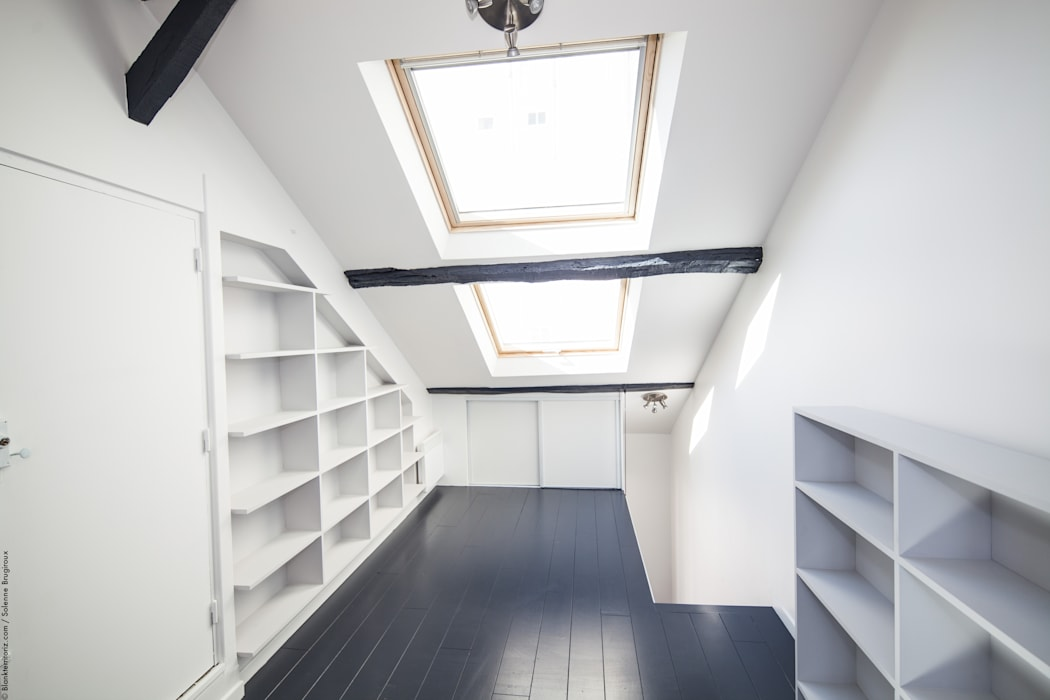 Duplex Lumineux: Fenêtres de style  par Solenne Brugiroux Architecte, Moderne
