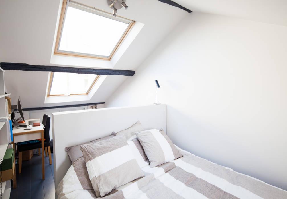 Dormitorios de estilo moderno de Solenne Brugiroux Architecte Moderno