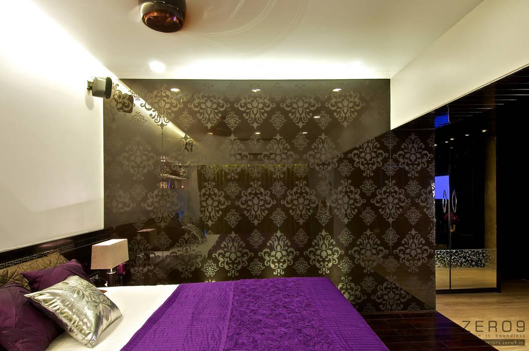 Master bedroom Modern style bedroom by ZERO9 Modern
