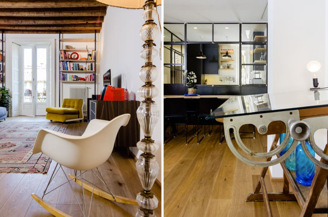 de style  par NOMADE ARCHITETTURA E INTERIOR DESIGN, Industriel