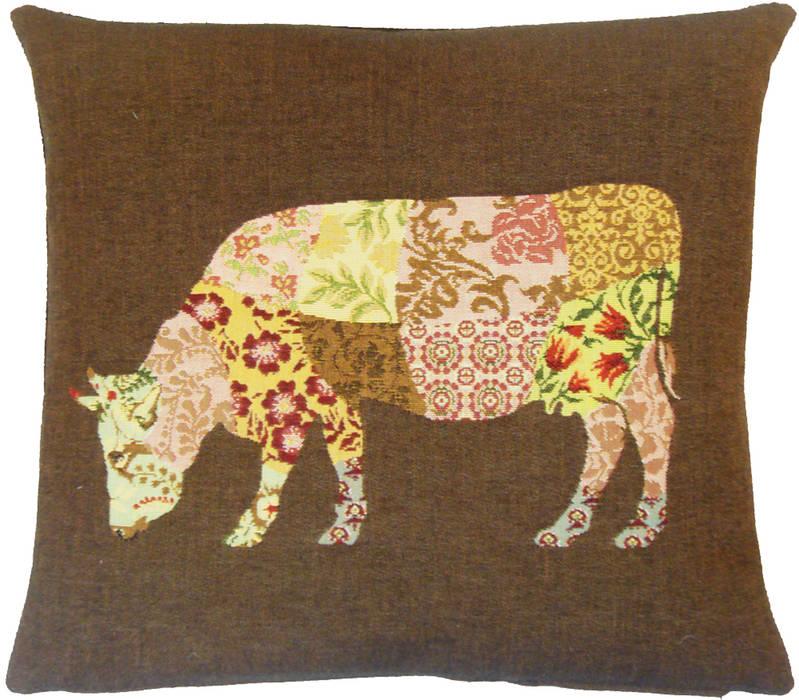 Patchwork Deers: Salon de style  par FS Home Collections