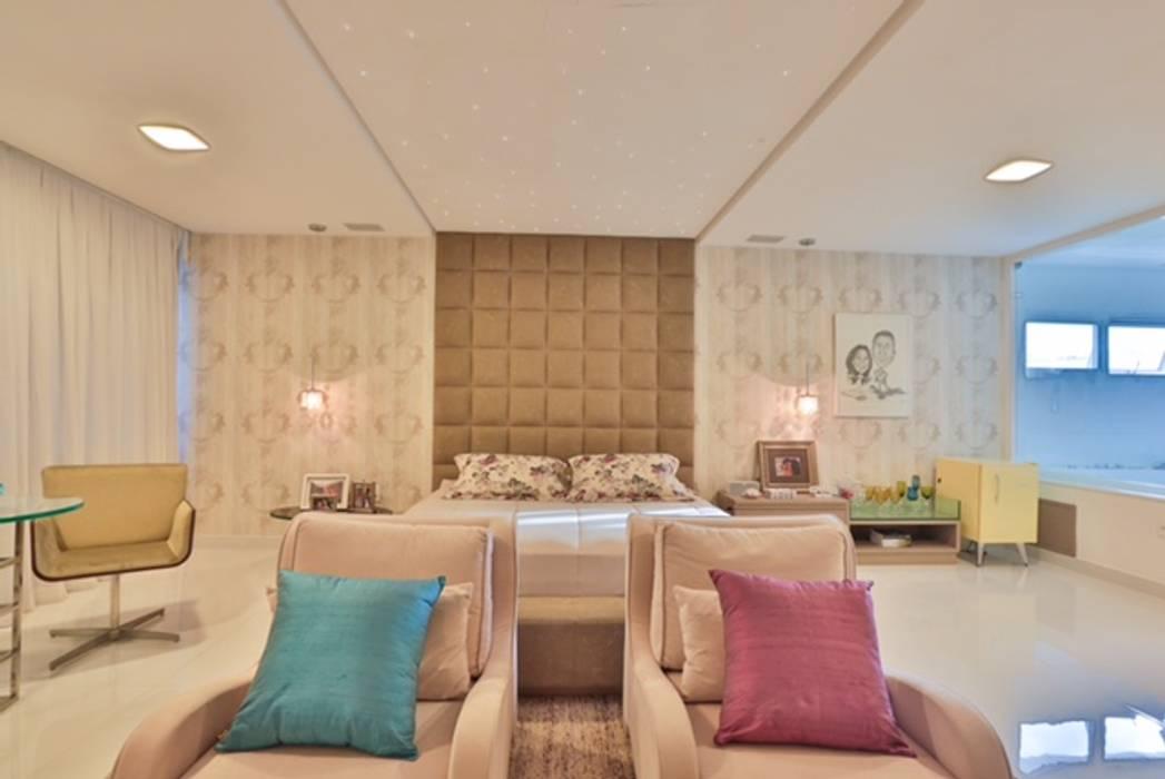 Dormitorios de estilo moderno de Rita Albuquerque Arquitetura e Interiores Moderno