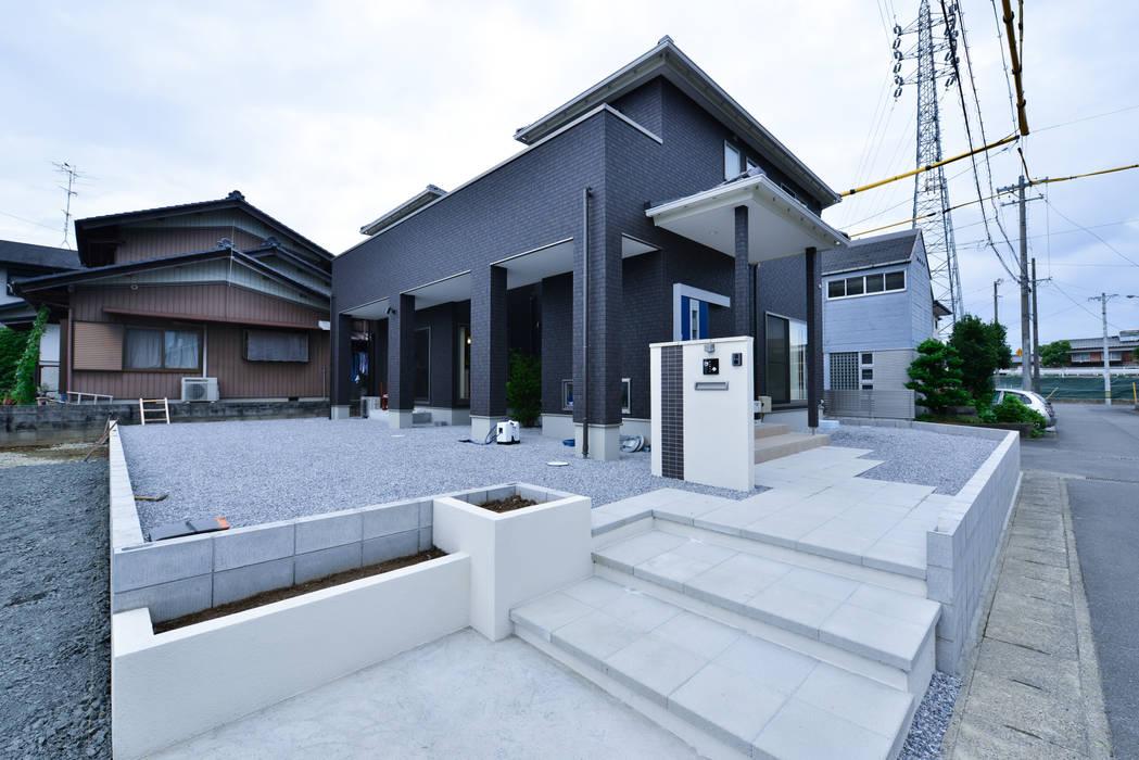 外観 スクエア建築スタジオ モダンな 家