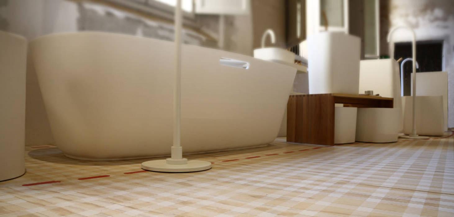 Tailot Made bathroom Centros de exposições modernos por Alhambretto Design Studio Moderno
