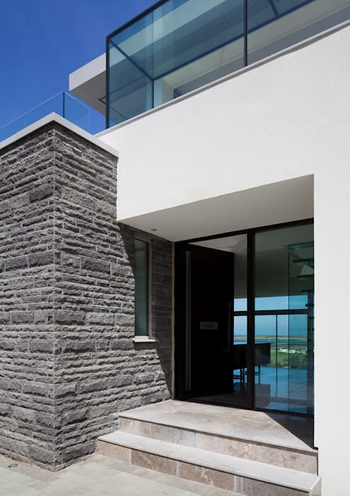 Etoile du Nord Paredes y pisos de estilo moderno de JAMIE FALLA ARCHITECTURE Moderno