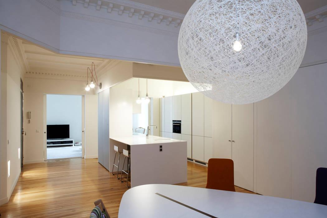 Vivienda Ortega y Gasset.Madrid Beriot, Bernardini arquitectos Cocinas de estilo moderno