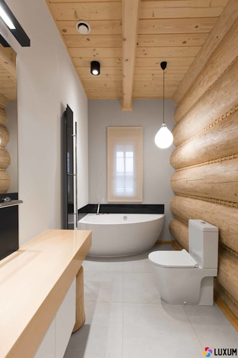 Nowoczesna łazienka: styl , w kategorii Łazienka zaprojektowany przez Luxum,Nowoczesny