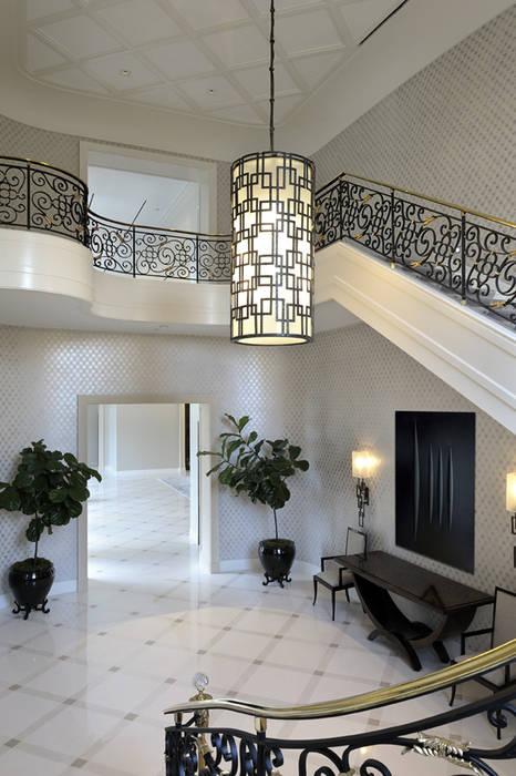 Residenza privata - Palm Beach, Florida - Hall d'entrata:  in stile  di Ti Effe Esse Interiors