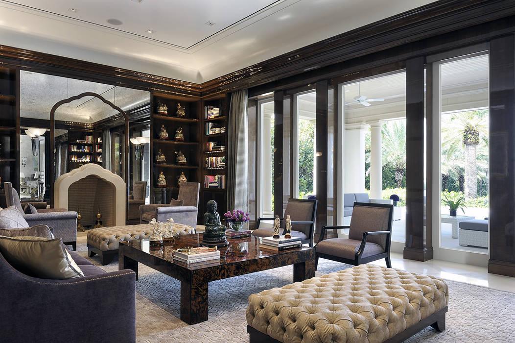 Residenza privata - Palm Beach, Florida - Library:  in stile  di Ti Effe Esse Interiors