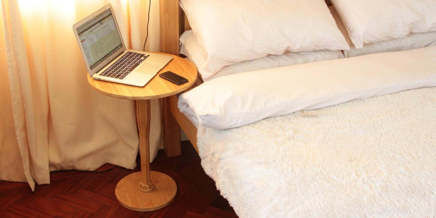 Safe Bedside Table Woodquail Asyatik