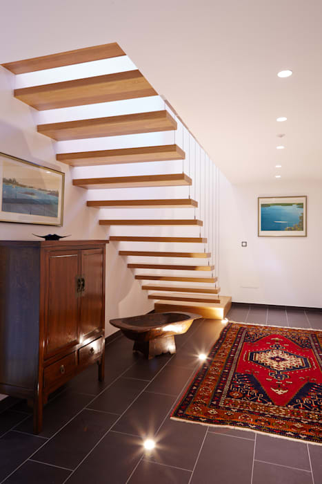HUGA ARQUITECTOS Rustic style house