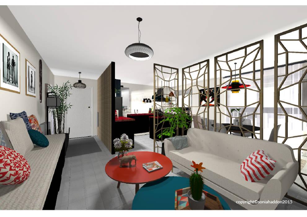 moderne wohnzimmer von sonia haddon interior designer homify. Black Bedroom Furniture Sets. Home Design Ideas