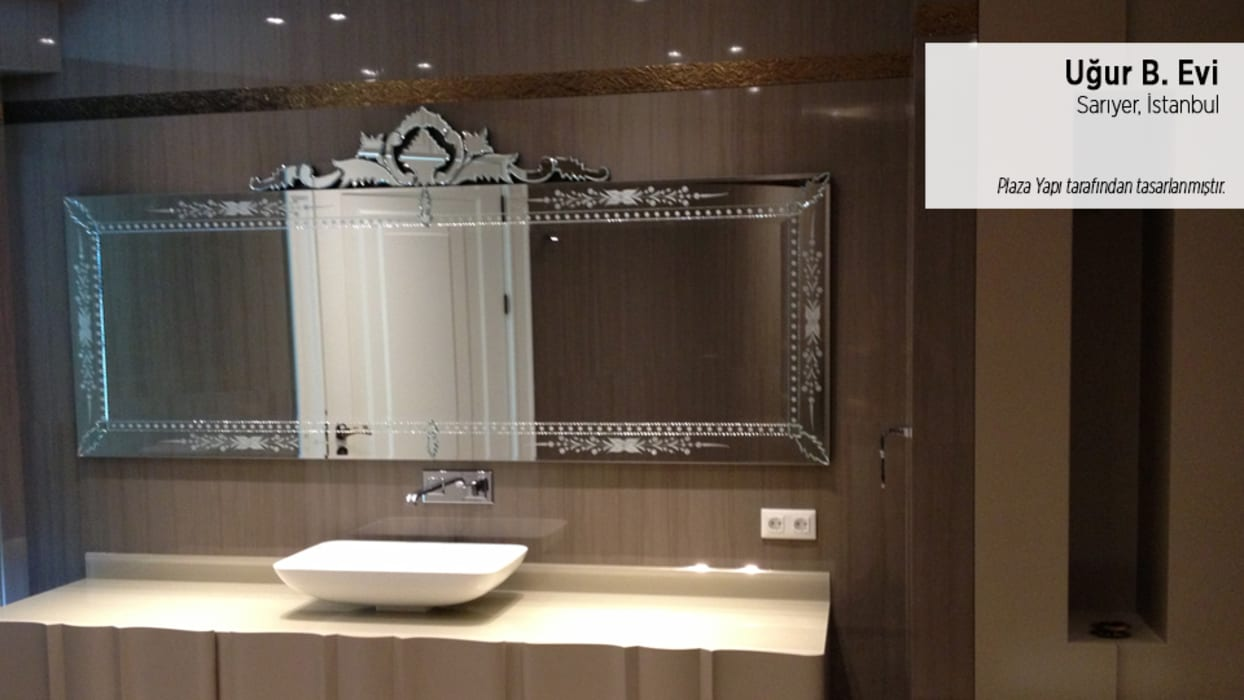 Uğur B. Evi Modern Banyo Plaza Yapı Malzemeleri Modern