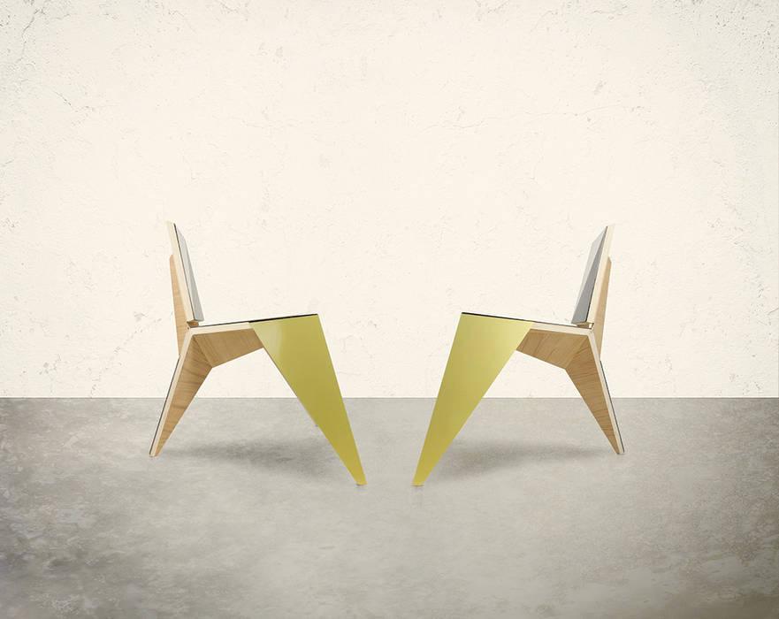 Chaise Géométrique 02:  de style  par Formz