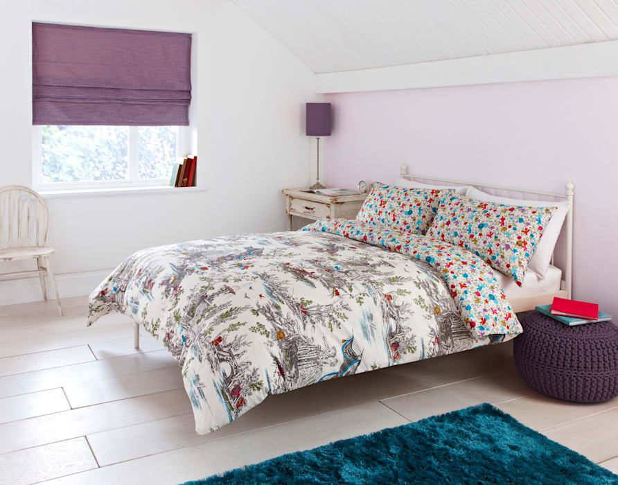 """""""Mazelle"""" Bedding Dandylion Designs DormitoriosTextiles"""
