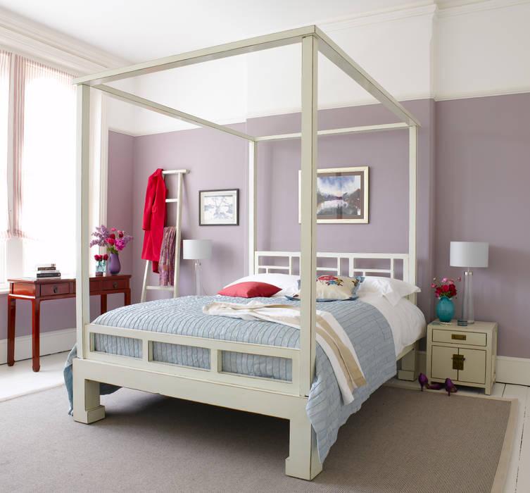 homify 臥室床與床頭櫃
