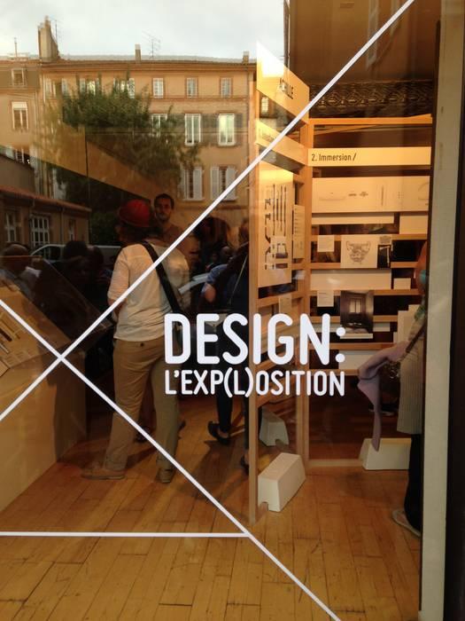 Scénographie Design:  l'Exp(l)osition:  de style  par Mbd