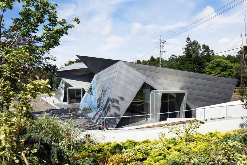 外観近景: 株式会社 安井秀夫アトリエが手掛けた美術館・博物館です。